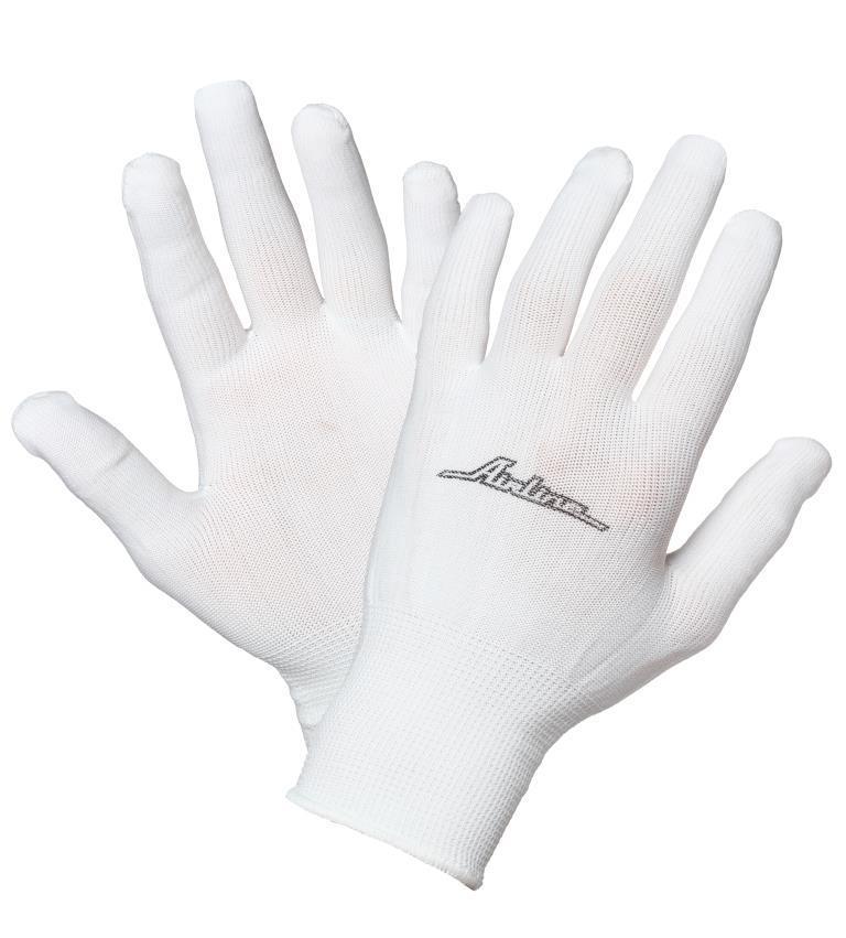 Перчатки Airline Awg-ns-12, белый  - Купить