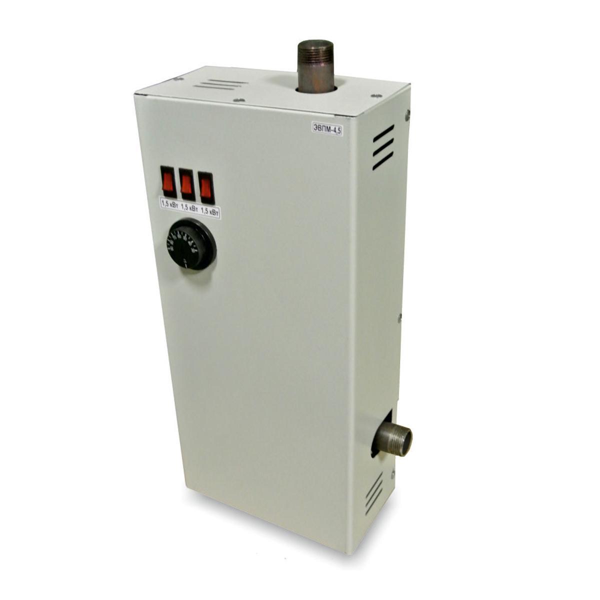 Купить Электрический котел УРАЛПРОМ ЭВПМ-4.5кВт (220В)