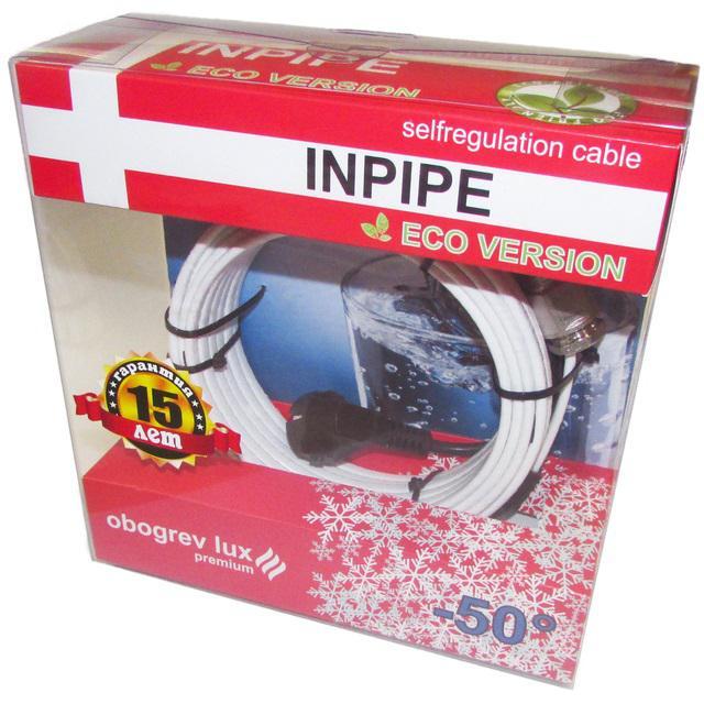 Греющий кабель Inpipe Ol premium 9м кабель 9м для каркам квадро окта