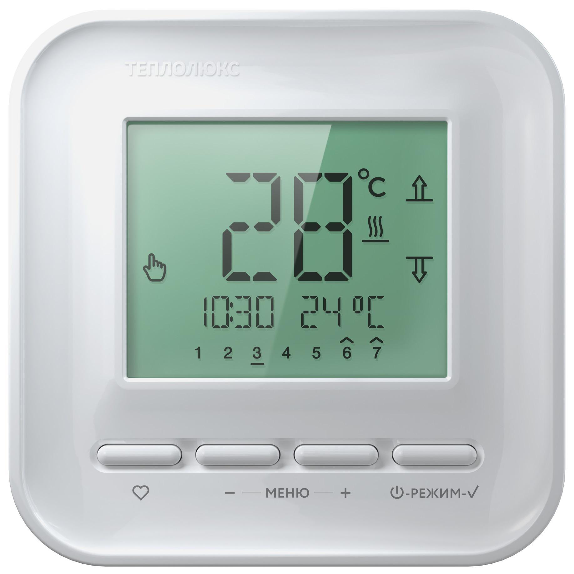 Терморегулятор ТЕПЛОЛЮКС ТЕПЛОЛЮКС 515 теплый пол теплолюкс profimat160 10 0
