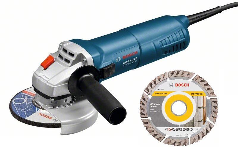 УШМ Bosch Gws 9-125 + Диск алм.universal 125х22мм цены