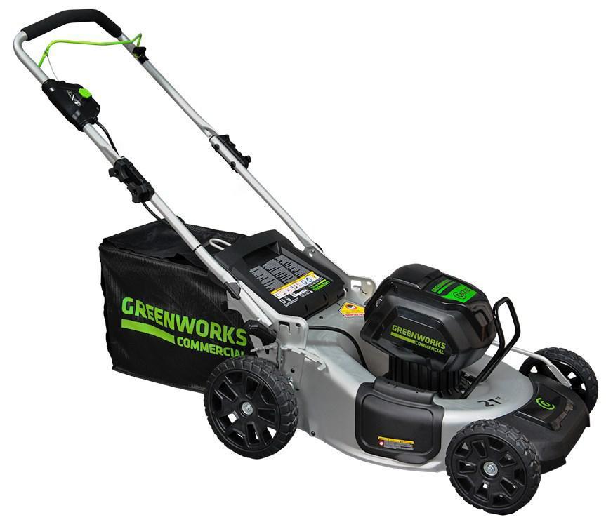 Газонокосилка Greenworks 2502607 без акк. и зу дрель шуруповерт greenworks gd24bd 3701607 без аккум и зу