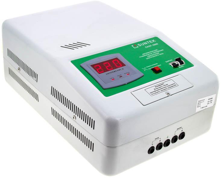все цены на Стабилизатор напряжения Suntek Sr3000 онлайн