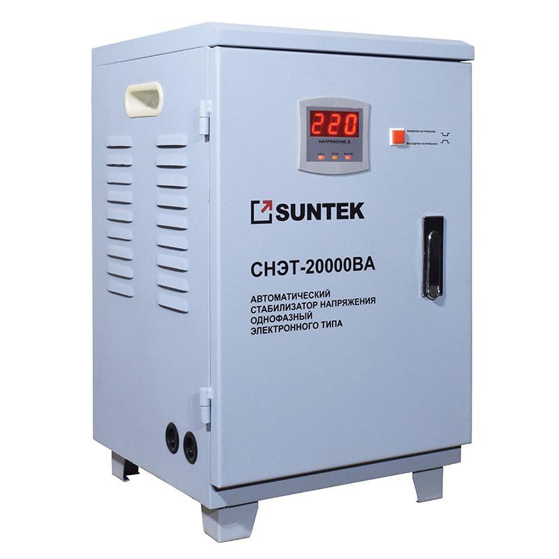 Купить со скидкой Стабилизатор напряжения Suntek Sr20000