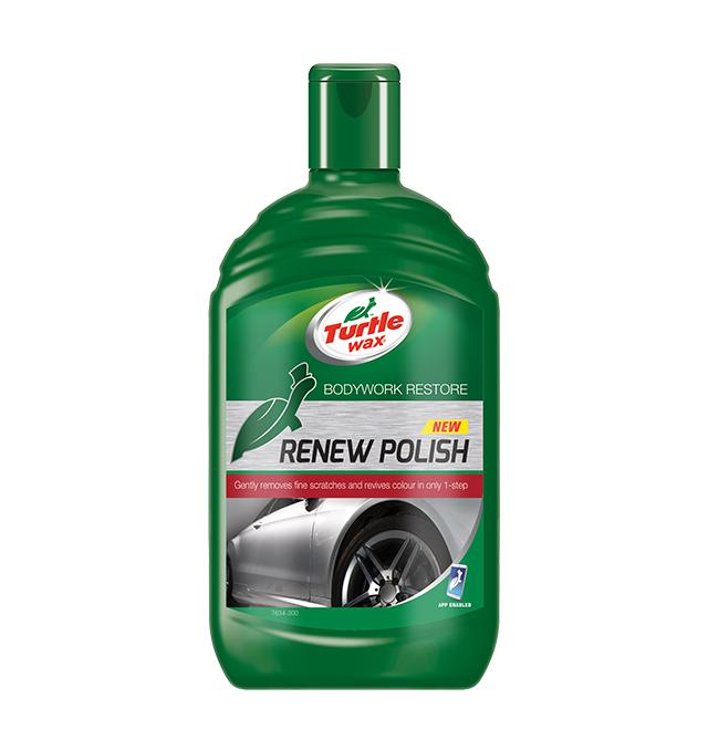 Антицарапин Turtle wax Renew polish 500мл косметика renew купить
