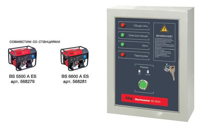 Блок автоматики Fubag Bs 6600 (230v) daewoo блок автоматики ats15 220ddae xe