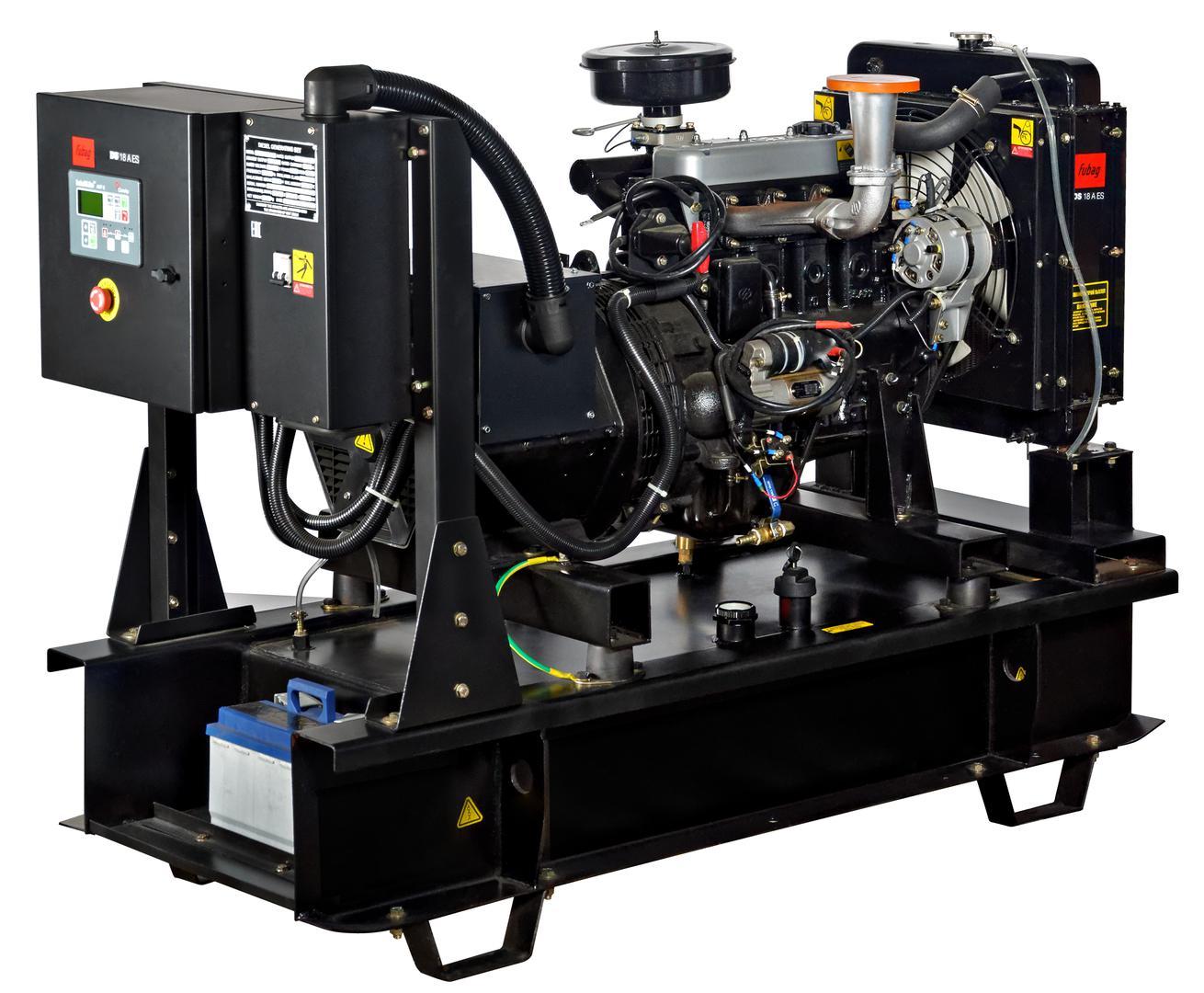 Дизельный генератор Fubag Ds 18 a es автоматика fubag ds 9500 startmaster