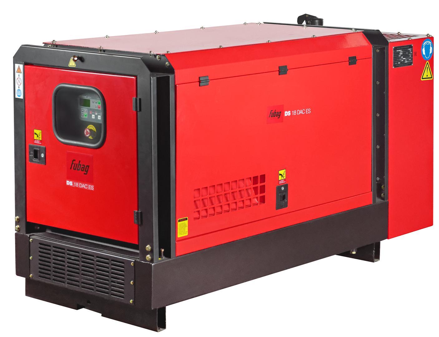 Дизельный генератор Fubag Ds 18 dac es автоматика fubag ds 9500 startmaster