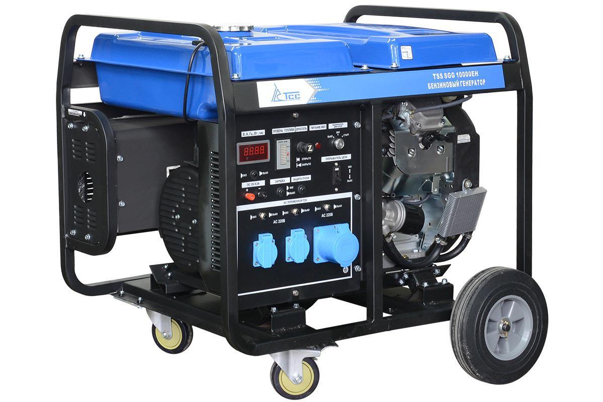 Бензиновый генератор ТСС Sgg 10000eh бензиновый генератор тсс sgg 7500ен