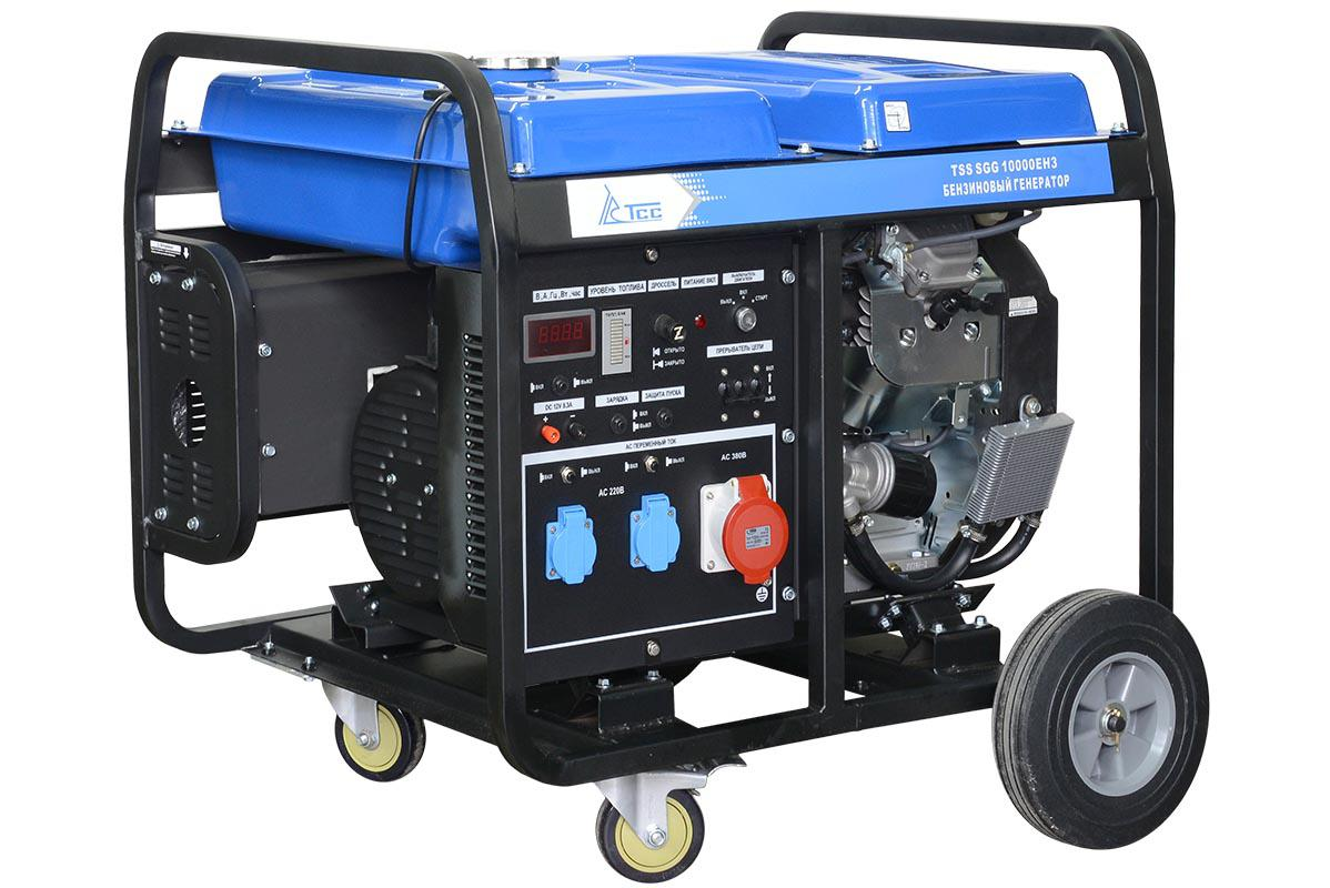 Бензиновый генератор ТСС Sgg 10000eh3 генератор бензиновый tss sgg 7500e
