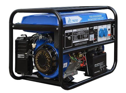 Бензиновый генератор ТСС SGG 5000 E