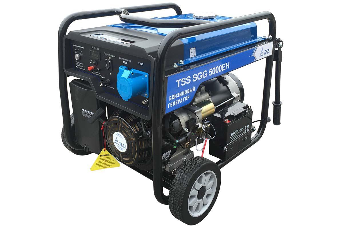 Бензиновый генератор ТСС Sgg 5000 eh датчик lifan auto lifan 2