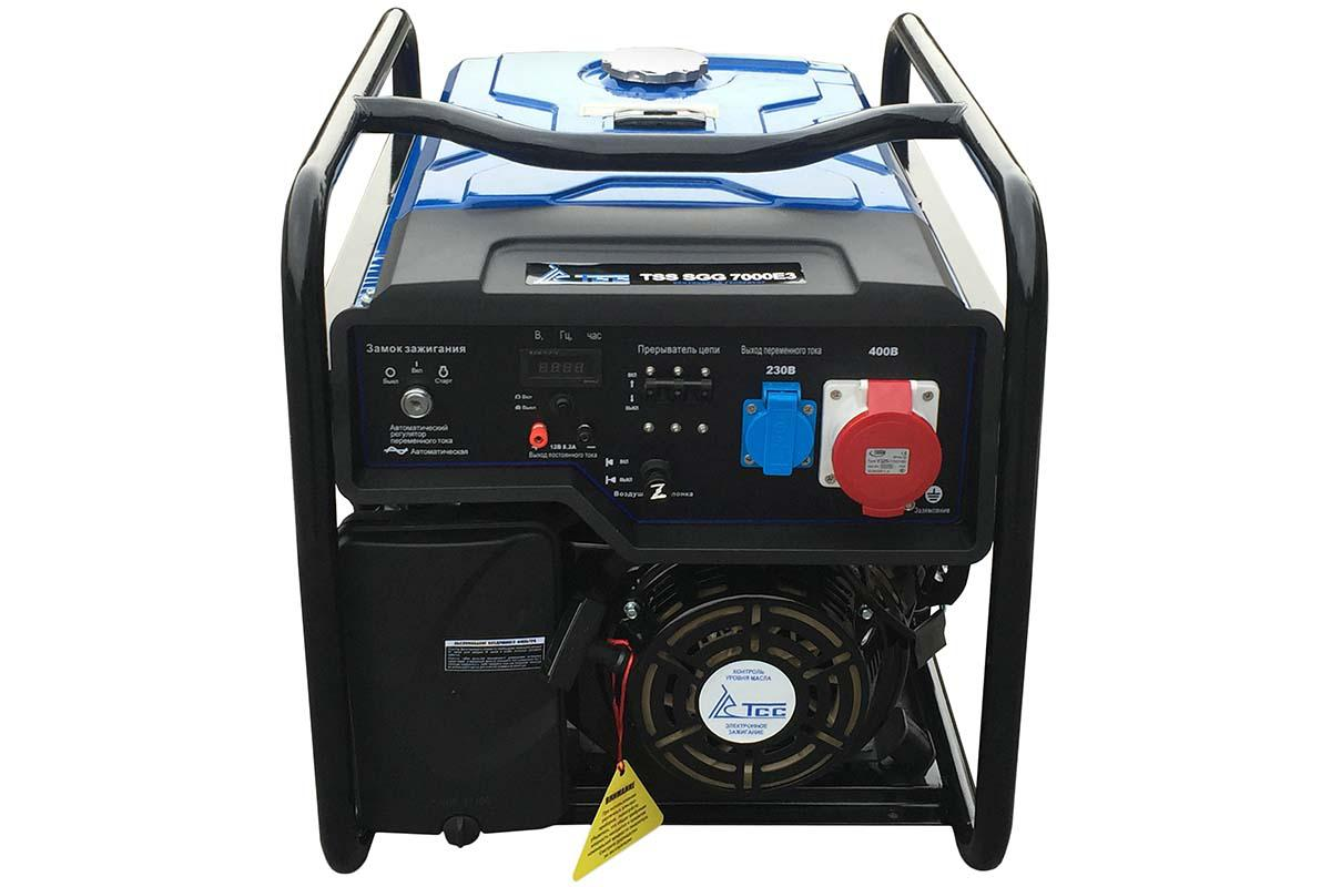 Бензиновый генератор ТСС Sgg 7000 e3 генератор бензиновый tss sgg 7500e