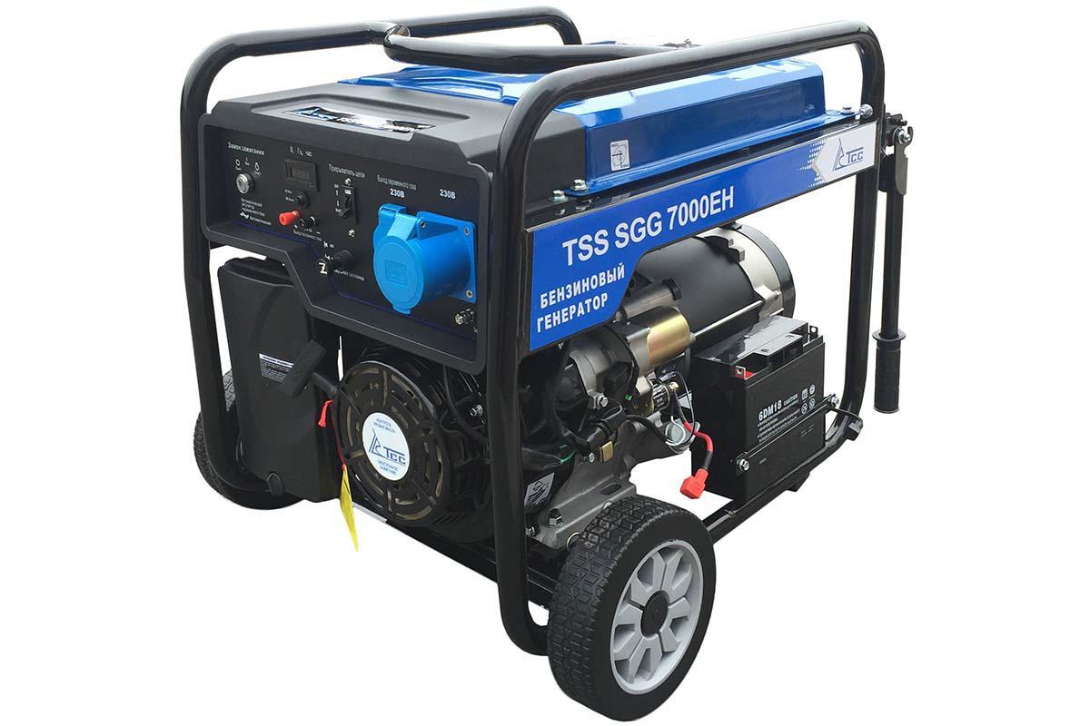 Бензиновый генератор ТСС Sgg 7000 eh