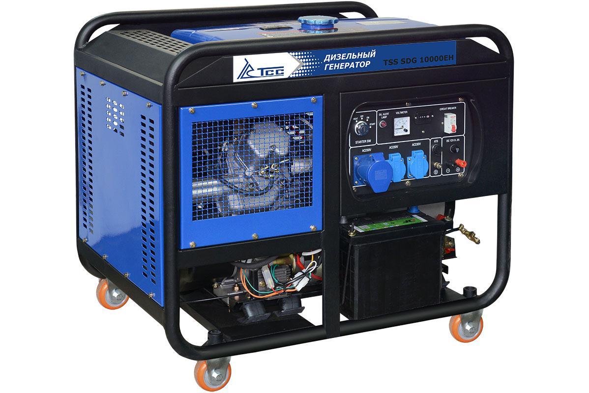 все цены на Дизельный генератор ТСС Sdg 10000eh онлайн
