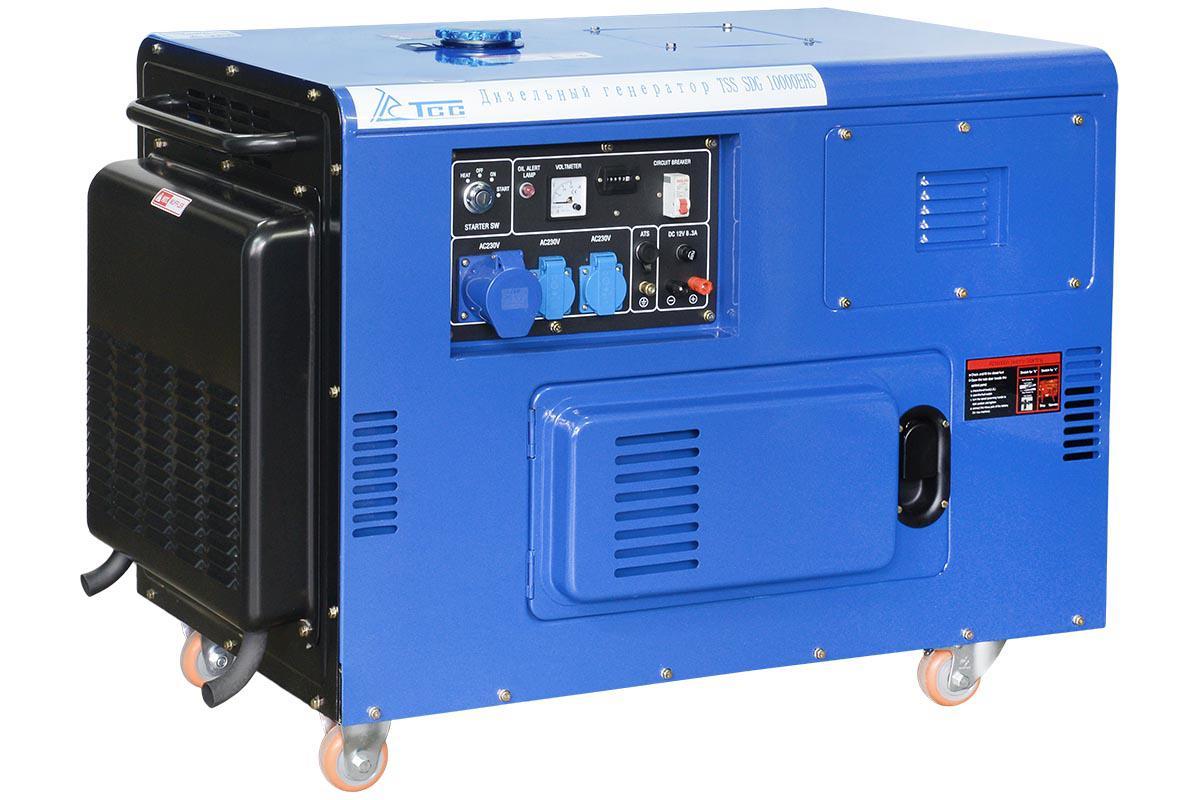 Дизельный генератор ТСС Sdg 10000ehs дизельный генератор тсс sdg 5000e