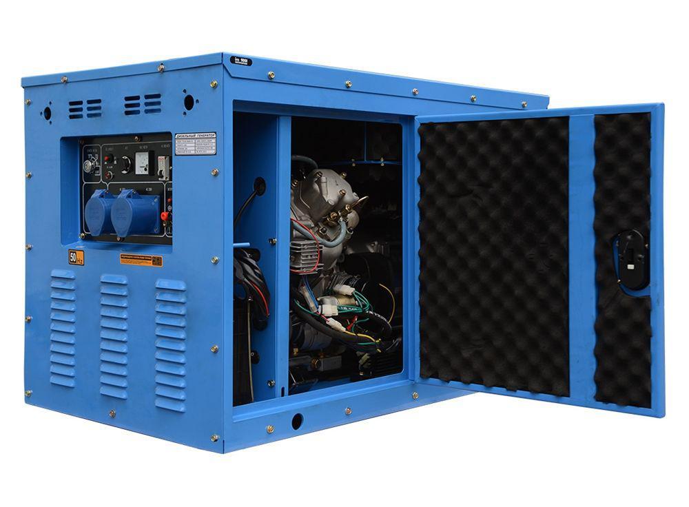 Дизельный генератор ТСС Sdg 10000es ats edisson s 20