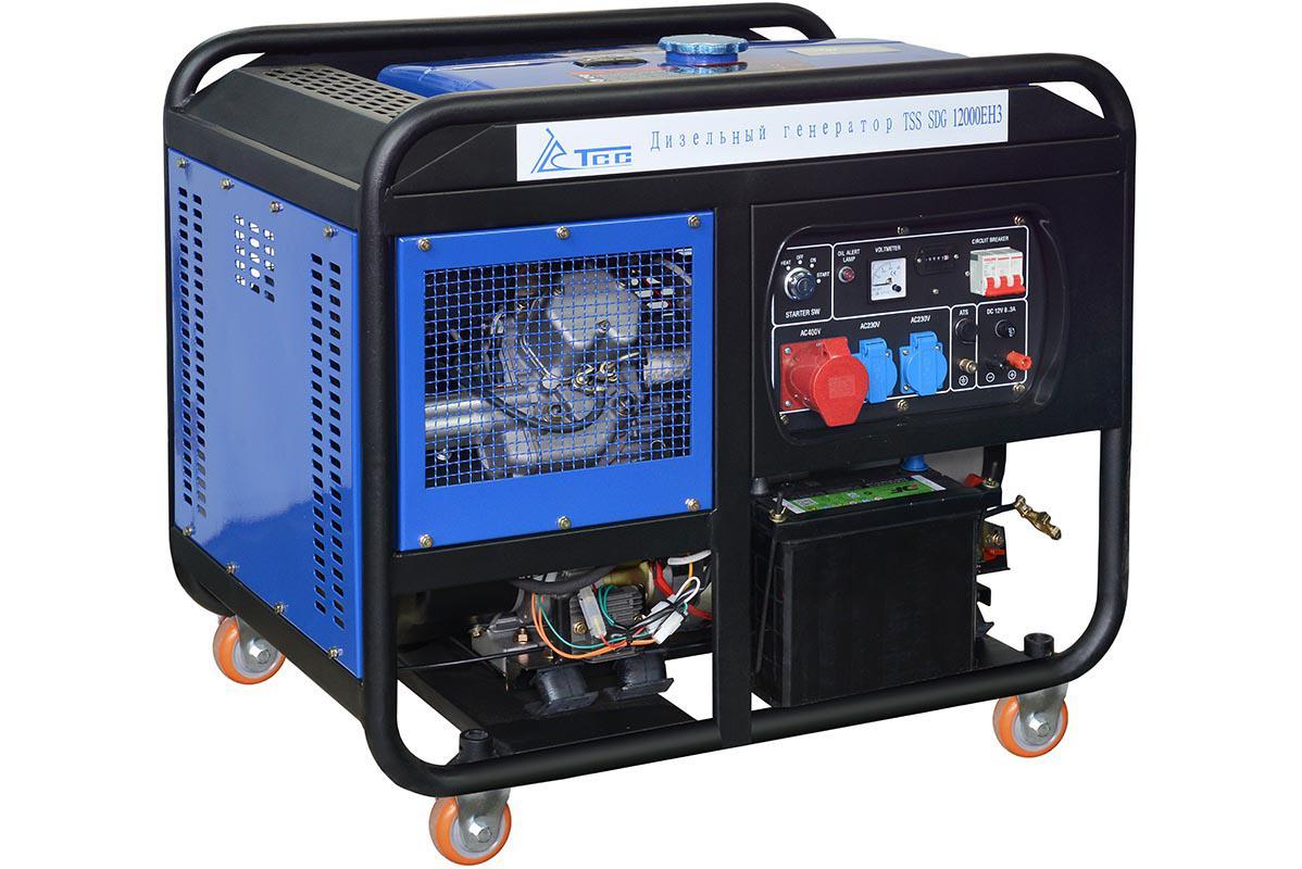 Дизельный генератор ТСС Sdg 12000eh3 дизельный генератор тсс sdg 5000e