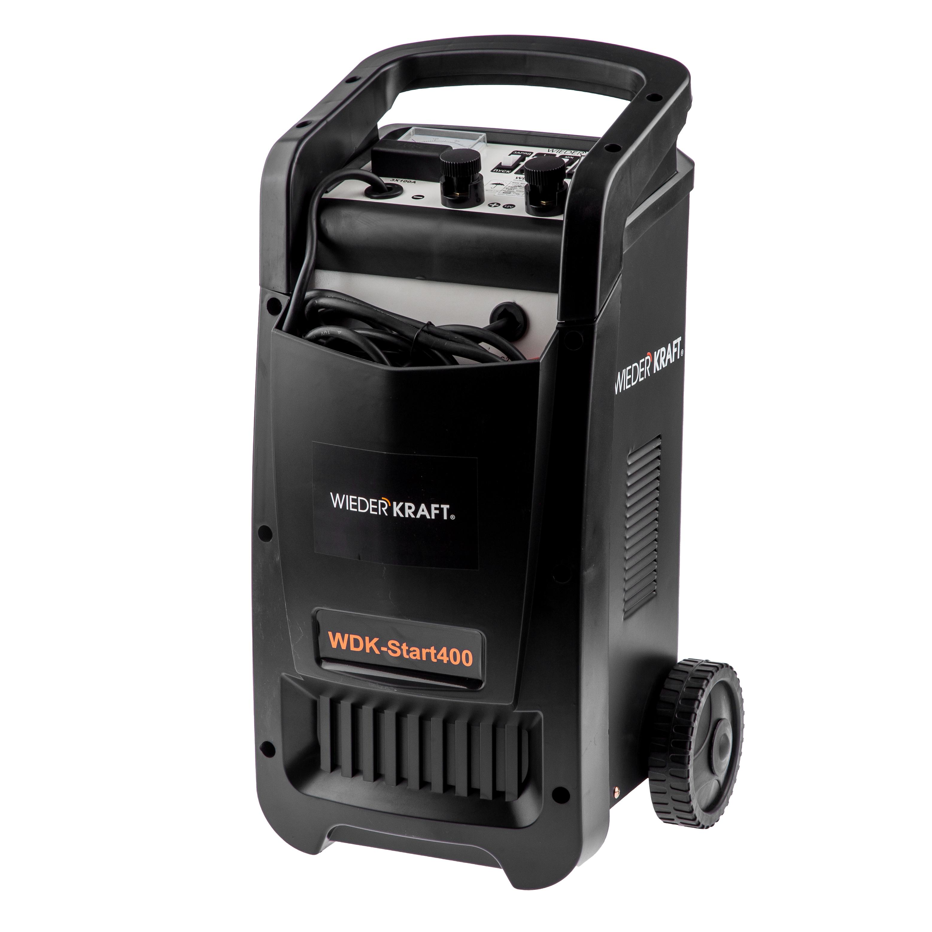 Устройство пуско-зарядное Wiederkraft Wdk-start400 пуско зарядное устройство с компрессором каркам пзу 10