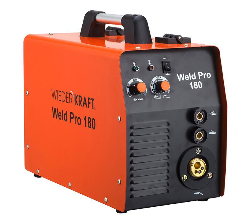 Сварочный аппарат Wiederkraft Weld pro 180 сварочный трансформатор спец мма 180 ас s
