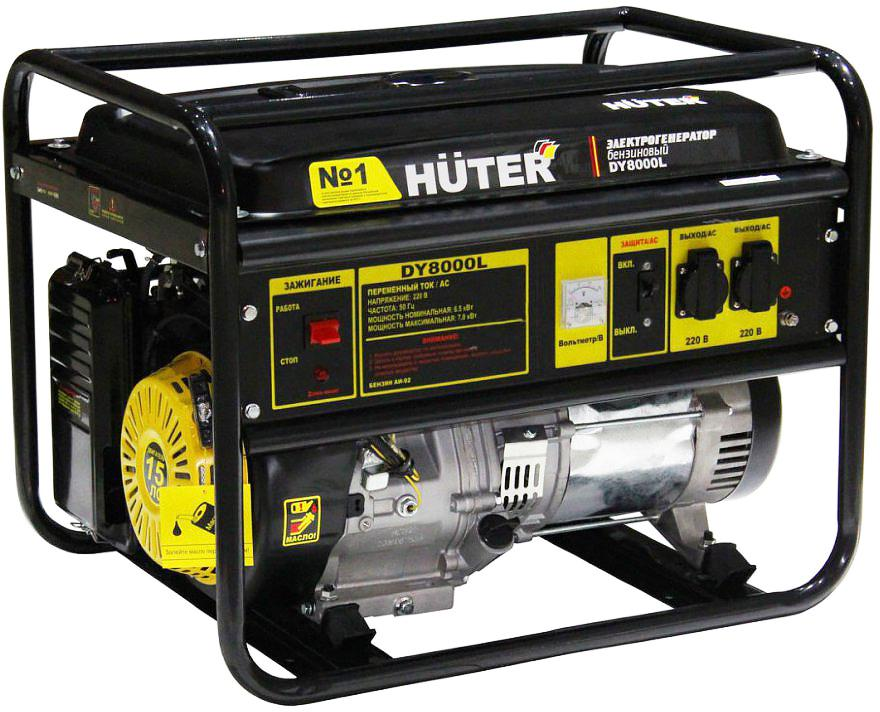 Бензиновый генератор Huter Dy8000l домкрат белак бак 20039 2т
