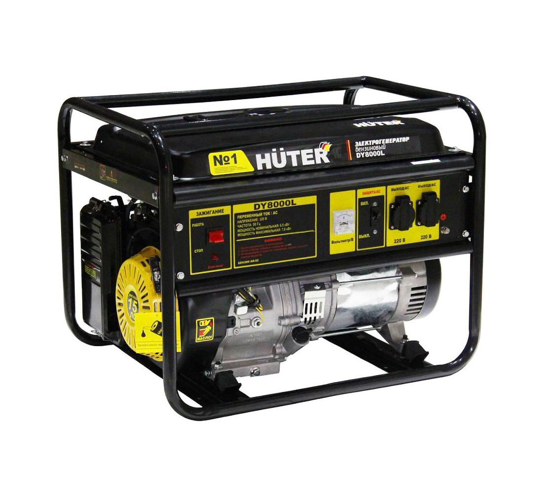 Бензиновый генератор HUTER DY8000L