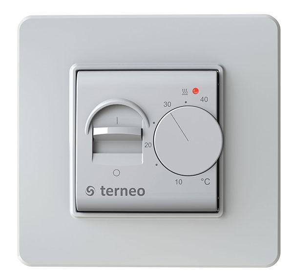 Терморегулятор Terneo Mex терморегулятор для теплого пола теплолюкс тс 201 белый