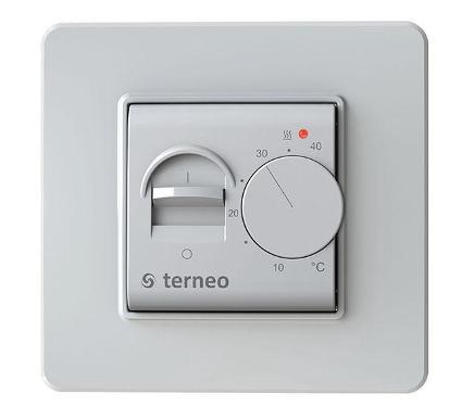 Терморегулятор TERNEO MEX белый