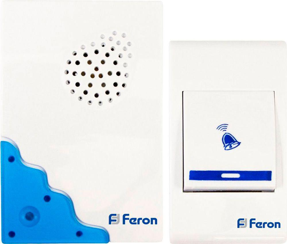 Звонок Feron 23679 цифровой led 32 мелодия песни беспроводной дверной звонок с дистанционным управлением музыкальные номера