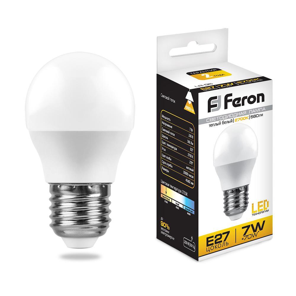 Фото. Лампа светодиодная Feron 25482