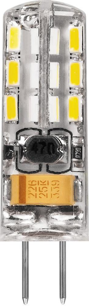 Лампа светодиодная Feron 25858 лампа галогенная акцент jc 12в 20w g4 капсульная прозрачная