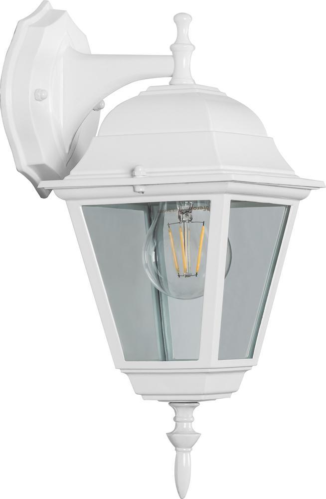 Светильник уличный Feron 11015 leflash датчик движения ик настенный 120° потолочный 360° белый