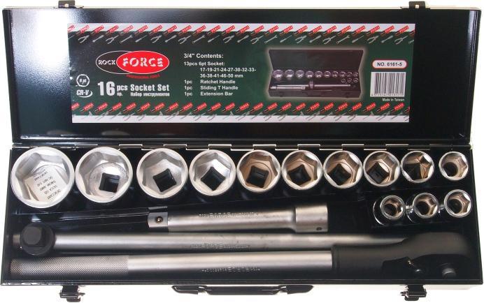 Набор инструментов Rock force Rf-6161-5 набор инструмента forsage 6161 5