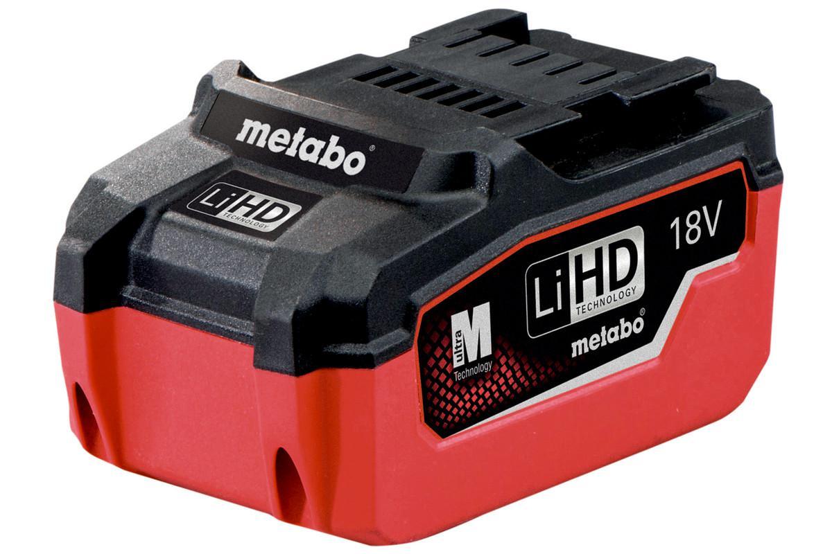 Аккумулятор Metabo 18В 5.5Ач li-ion (625342000)