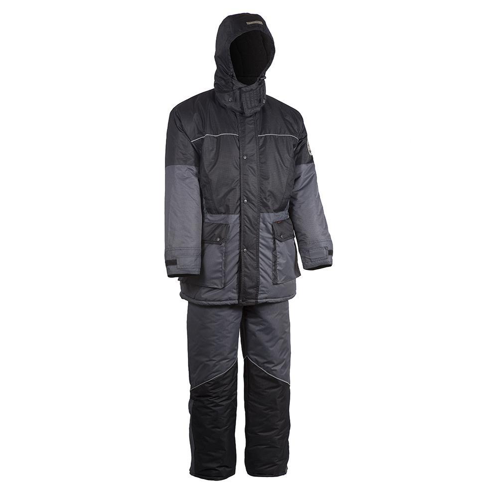 Костюм Huntsman Арктика серый черный рюкзак huntsman пикбастон цвет камуфляж 80 л