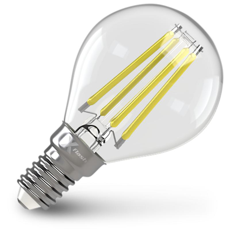 Лампа X-flash Xf-e14-fl-p45-4w-4000k-230v x flash светодиодная лампа xf bfm e14 4w 4000k 220v x flash