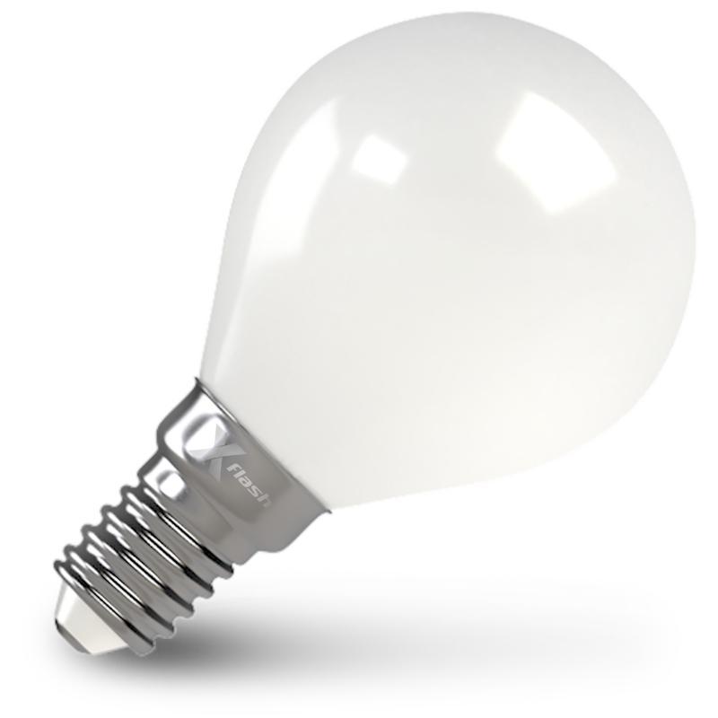 Лампа X-flash Xf-e14-flm-p45-4w-2700k-230v лампочка x flash xf e14 flm ca35 4w 2700k 230v 48847