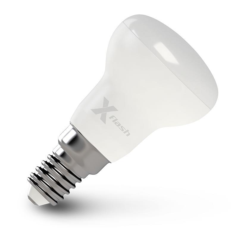 Лампа X-flash Xf-e14-r39-4w-3000k-230v x flash светодиодная лампа xf e14 mw ag 4w 3000k 220v x flash