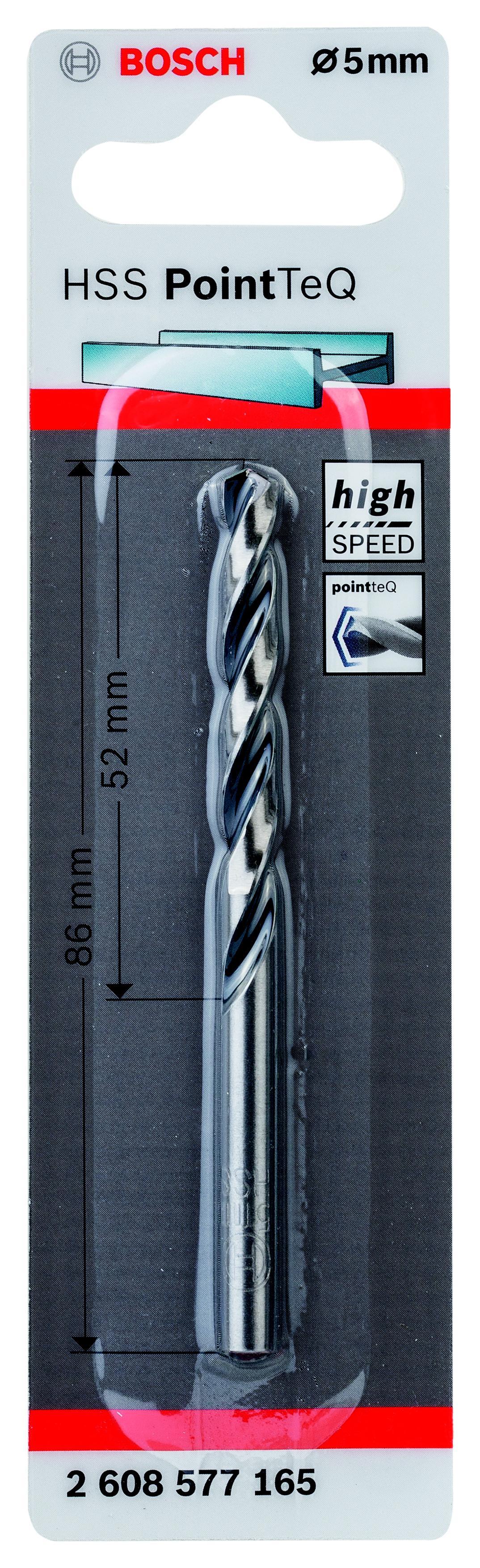 Сверло по металлу Bosch 2.608.577.165 пилки для лобзика по металлу для прямых пропилов bosch t118a 1 3 мм 5 шт