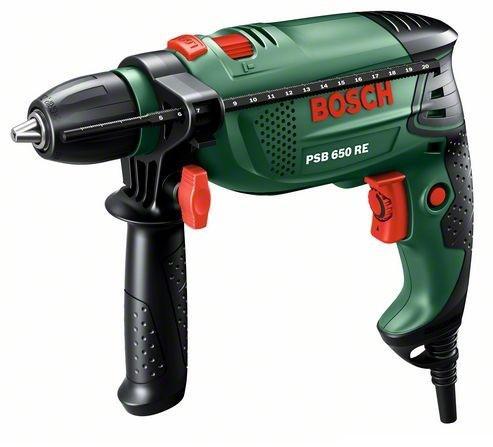 Дрель ударная Bosch Psb 650 re + x-line set (15 шт.) promo (0.603.128.005) ударная дрель bosch psb 450 re 0 603 127 025