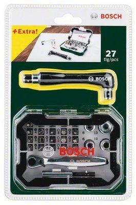 Набор бит Bosch 26 с трещеткой (2.607.017.392)