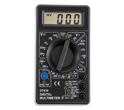 Мультиметр TEK Ресанта DT 838
