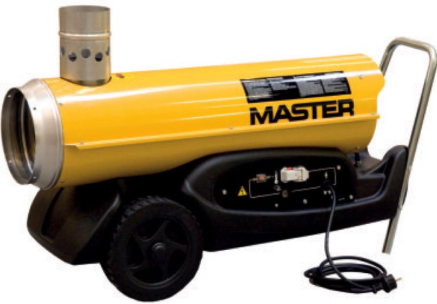 Тепловая пушка Master Bv77e электрический нагреватель воздуха master b 9 eca