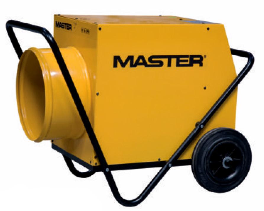 Тепловентилятор электрический Master B18epr электрический нагреватель воздуха master b 9 eca