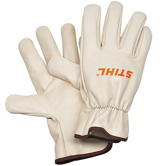 Перчатки спилковые Stihl из воловьей кожи кромкорез со штоком stihl fcb km