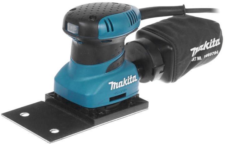 Машинка шлифовальная плоская (вибрационная) Makita Bo4566 машинка шлифовальная плоская вибрационная bosch gss 23 ae 0 601 070 721