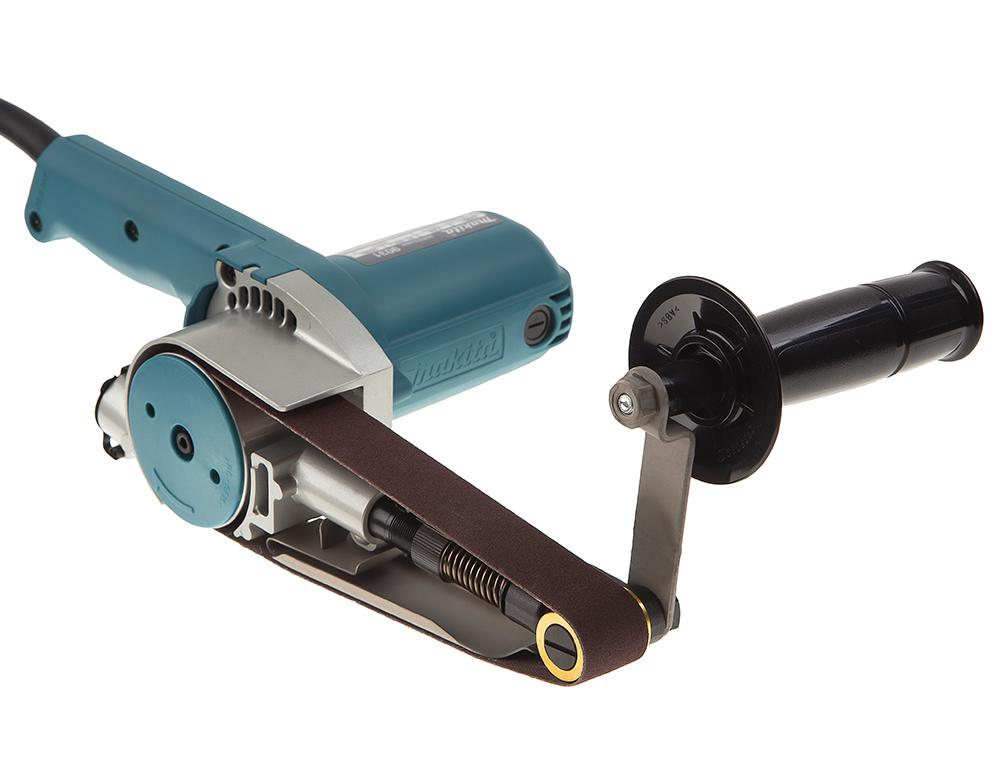 Машинка шлифовальная ленточная Makita 9031 (ленточный напильник) напильник truper т 15240
