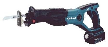 Аккумуляторная сабельная пила Makita Djr181rfe аккумуляторная аккумуляторная воздуходувка makita bub183z