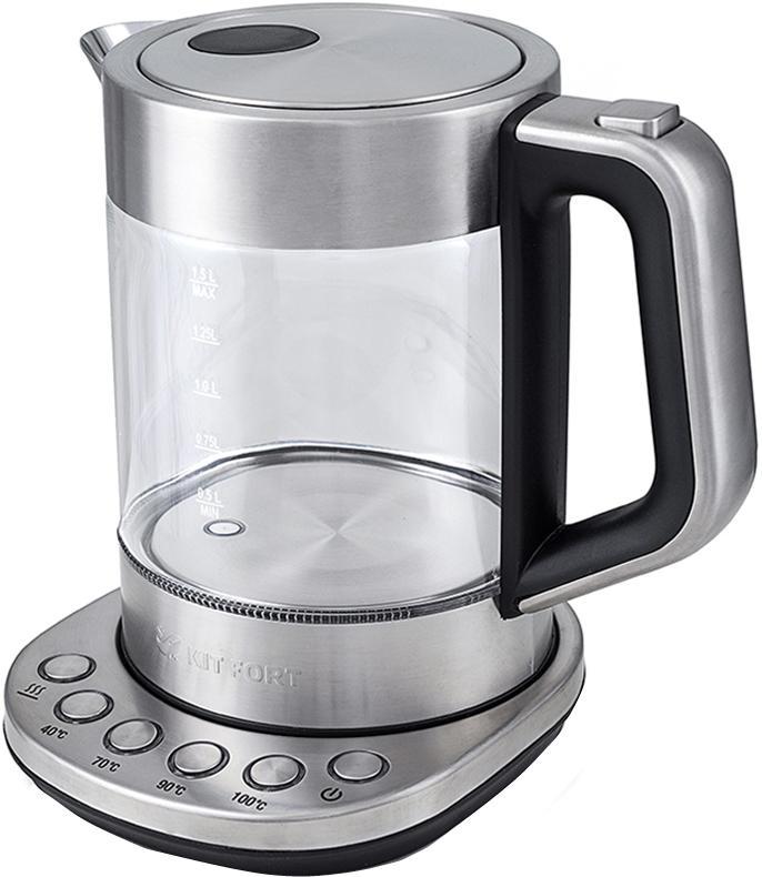 Чайник Kitfort КТ-616 пароочиститель kitfort кт 909