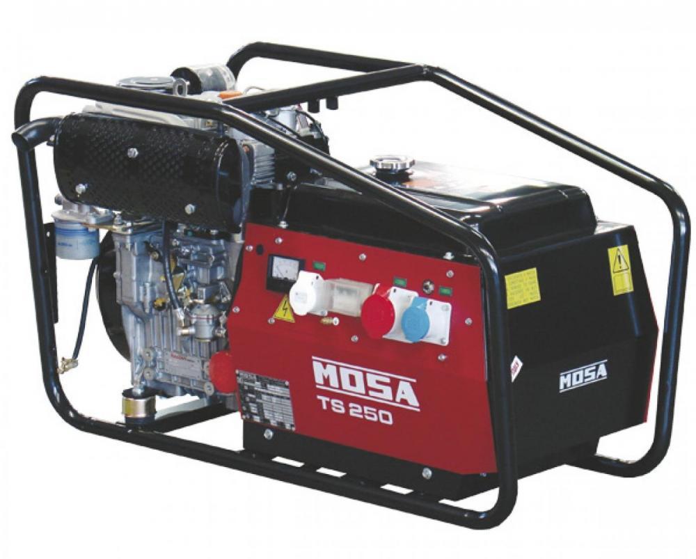 Сварочный дизельный генератор Mosa Ts 250 kd/el